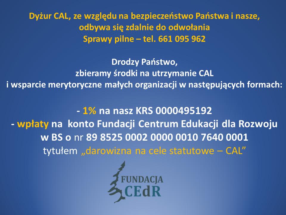 pomoc CAL